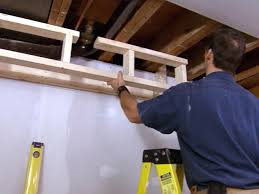 How To Install Upper Kitchen Cabinets How To Build A Soffit How Tos Diy