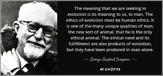Seeking What Is It About George Gaylord Quote The Meaning That We Are Seeking In