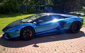 cars lamborghini blue blue mirror lamborghini cars hd wallpaper