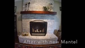 White Washed Stone Fireplace Life by Ashleys Green Life How To Whitewash Fireplace Stone Also Whitewash