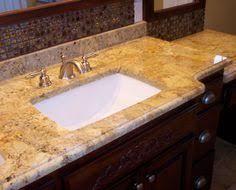 Lowes Vanity Top Shop Allen Roth Desert Gold Granite Undermount Single Sink