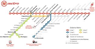 Map Of Venezuela Metro Map Of Caracas Metro Maps Of Venezuela U2014 Planetolog Com