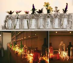 vintage glass bottles ideas for vintage rustic wedding