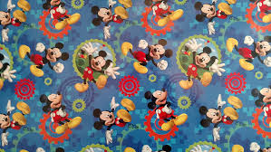 mickey wrapping paper disney hallmark mickey mouse clubhouse gift wrap