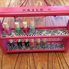 diy nail polish caddy the krazy eight