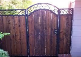 wrought iron wood fence buy reyes ornamental iron custom