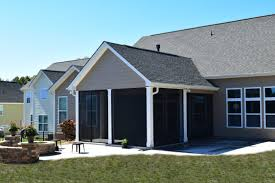 screen porch roof charlotte screen porch u0026 patio with stone fire pit lake norman