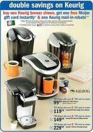 best keurig coffeemaker deals black friday meijer save big on keurig coffeemakers with stacked savings up