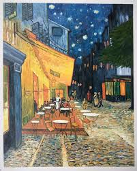 vincent van gogh reproductions oil on canvas replicas cafe terrace at night oil painting reproduction 1888