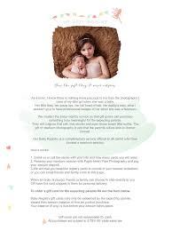 baby registry cards baby registry orange county ny custom maternity newborn
