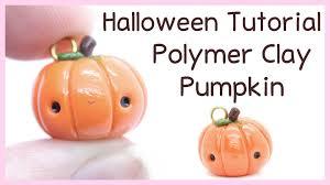 halloween charm bracelet kawaii pumpkin charm polymer clay halloween tutorial youtube