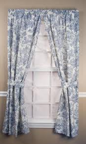 Blue Toile Curtains Ellis Park Toile Curtains Paulshomefashions