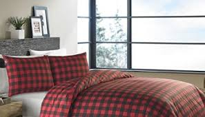 max studio easy care full queen duvet cover set lodge style buffalo ch