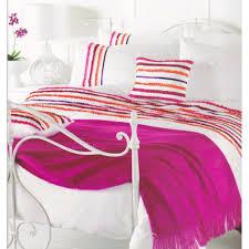 duvet covers stunning white pink orange purple ruffled double