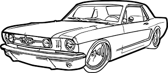 mustang coloring pages coloringsuite com