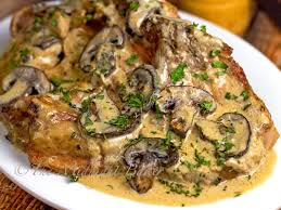 slow cooker pork chop stroganoff the midnight baker