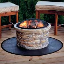 Firepit Mat Deck Protect Pit Pad Outdoor Goods