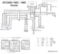1986 honda trx 350 wiring diagram blonton com