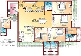 4 bedroom single house plans 4 bedroom single floor house plans india resnooze com