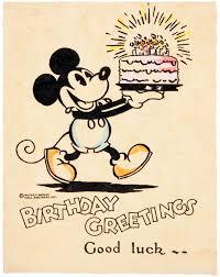 mickey mouse birthday card birthday cake tom simpson flickr
