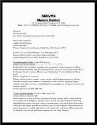 Fitness Instructor Resume Sample Professional Athlete Resume Sample Free Resume Example And