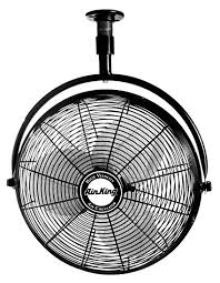 20 inch industrial fan amazon com air king 9320 20 inch 1 6 horsepower industrial grade