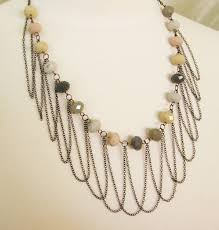 chain necklace diy images Draped chain necklace how did you make this luxe diy jpg