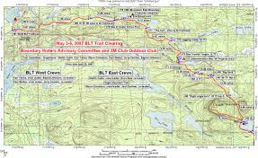 Boundary Waters Map Brule Lake Trail Fall Clearing September 24 27 Friends Of Bwca