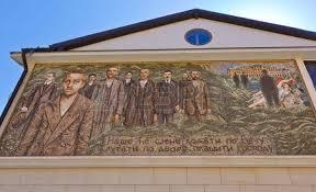 architektur reisen alte brücke auf drina in visegrad bosnien und herzegowina