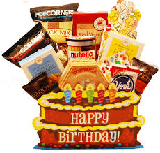 cake gift baskets birthday cake gift basket