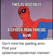 Spoderman Memes - 25 best memes about spoderman meme spoderman memes