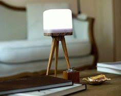 Wireless Table Lamp Cubo Outdoor Led Table Lamp Wireless 25 X 25 X 25 Cm White