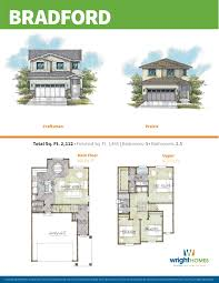 bradford floor plan new homes in herriman wright homes