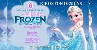 frozen birthday invitation template frozen birthday invitation
