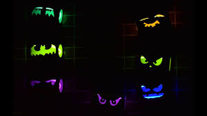 get ready to halloween 1 u2013 glowing eyes youtube