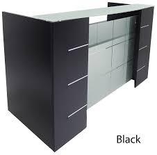 Black Reception Desk Front Reception Desk In 5 Colors