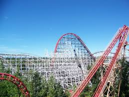 First Six Flags Wicked Cyclone Construction Update 8 Six Flags