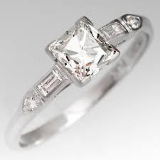 deco engagement ring vintage engagement rings antique diamond rings eragem