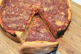 a feast for the eyes chicago style deep dish pizza
