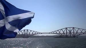 saltire scottish flag forth estuary scotland may 25th youtube