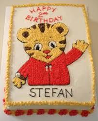 daniel tiger cake children s patti cake bakers