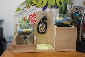 play saturday crafting our very own diy wooden desk organizers blog