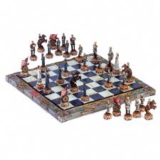 Designer Chess Sets by Chess Sets From The Chess Piece Chess Set Store Civil War Chess