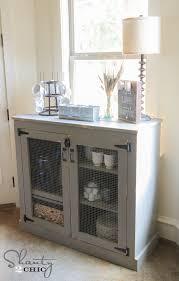 Coffee Bar Table Diy Farmhouse Coffee Cabinet Shanty 2 Chic