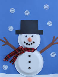 Easy Paper Craft Ideas For Kids - 21 easy paper plate snowman ideas for your kids guide patterns
