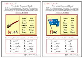phonics worksheets aussie childcare network