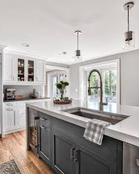 grey kitchen cabinets with white countertop 25 ways to style grey kitchen cabinets