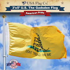 Us Flags Com Gadsden Flag Don U0027t Tread On Me Usa Flag Co