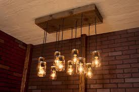 mason jar dining room light best 25 mason jar chandelier ideas on