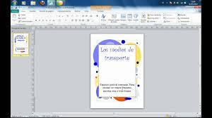 bordes para publisher tutorial de creación de portadas con microsoft publisher flv youtube